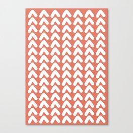 Zenith: Coral Canvas Print