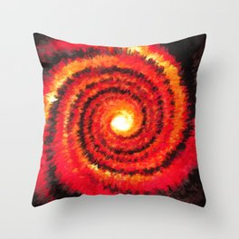 Fire Portal Throw Pillow