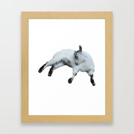 Goat Framed Art Print