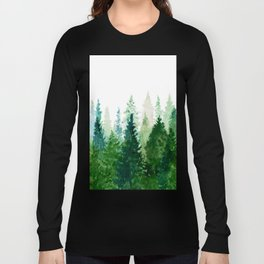 Pine Trees 2 Long Sleeve T-shirt
