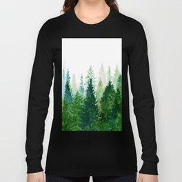 Pine Trees 2 Langarmshirt