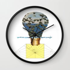 Ideas Come, Ideas Go Wall Clock