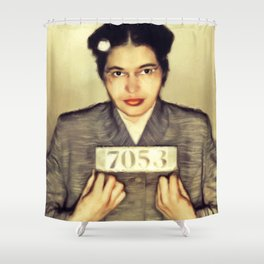 Rosa Parks, Civil Rights Activist Shower Curtain