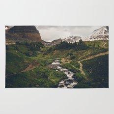 Canadian Rockies Rug