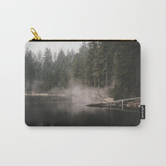 In the Fog - Landscape Photography Carry-All Pouch