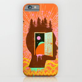 THOUGHT FREQUENCY iPhone Case