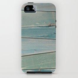 Wood Panel - dyed Beach Bum iPhone Case