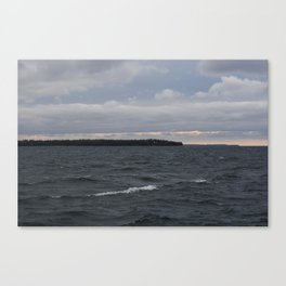 Waves of Grey Canvas Print