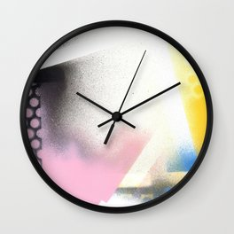 Abstract Series 6 no6 Wall Clock