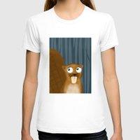 beaver T-shirts featuring Beaver by makoshark