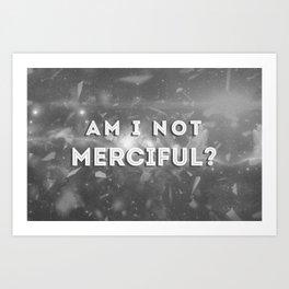 Illuminae - Am I Not Merciful? Art Print