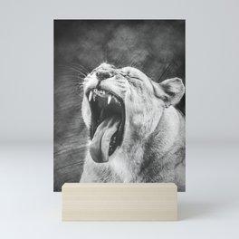 Lioness Mini Art Print