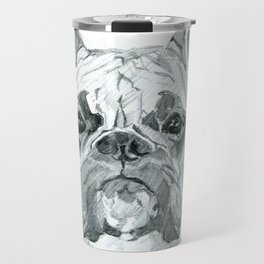 The Boxer Dog Miley Travel Mug