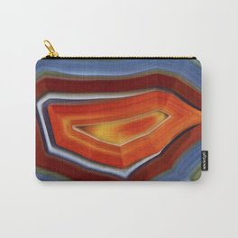 """""""Spring and Summer Colorful Abstract Agate"""" Carry-All Pouch"""