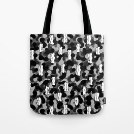Eyes and bubbles Tote Bag