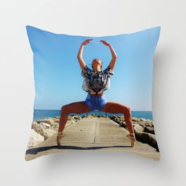 Strength Comes From Within  Throw Pillow