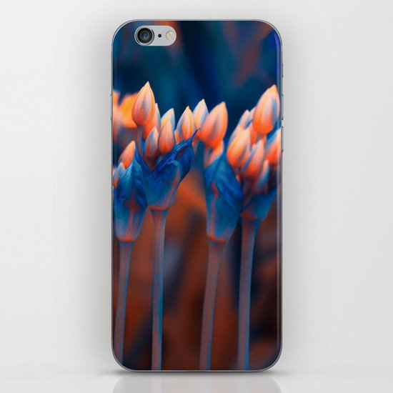 Floral abstract(4). iPhone & iPod Skin