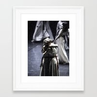 ballet Framed Art Prints featuring Ballet by Sébastien BOUVIER