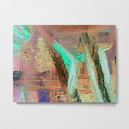 What do YOU see ABSTRACT Metal Print
