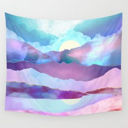 Opal Mountains Wall Tapestry