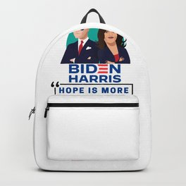 Biden Harris 2020 - Hope Is More Powerful Than Fear - 2020 US Election Backpack