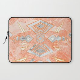 Sweet Pink Marble Design Laptop Sleeve