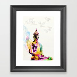 Keep Quiet Framed Art Print