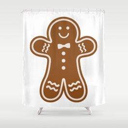 Gingerbread Hugs Shower Curtain