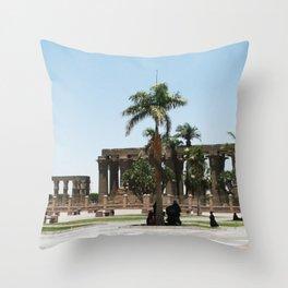 Temple of Luxor, no. 20 Throw Pillow