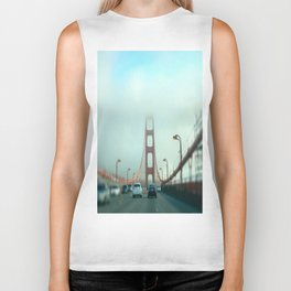 Transparent in The City today Biker Tank