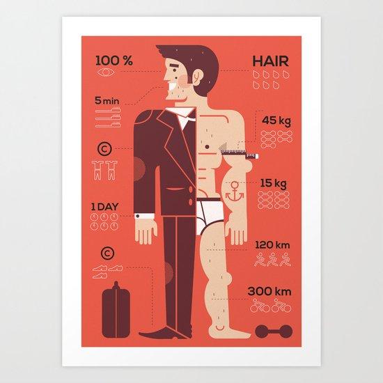 Men ... Art Print