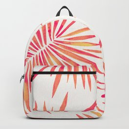 Tropical Fan Palm – Pink Palette Backpack