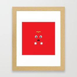 Mukku Framed Art Print