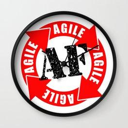 Agile AF Wall Clock