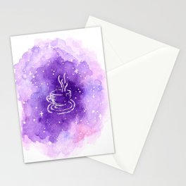 THERE'S COFFEE IN THAT NEBULA Stationery Cards