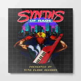 Synths Of Rage  Metal Print