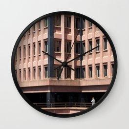 Urban loneliness Wall Clock
