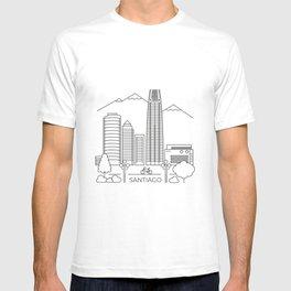 Santiago en línea T-shirt