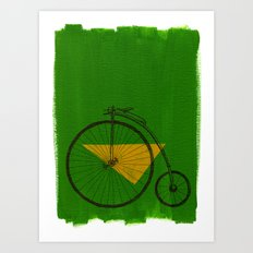 confidant III. (penny-farthing) Art Print