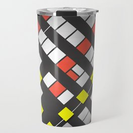 Breakout Pattern Travel Mug