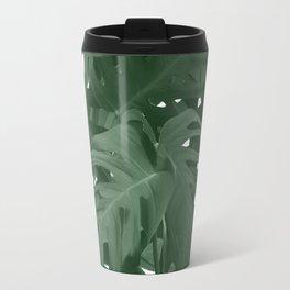 Monstera Jungle Paint Travel Mug