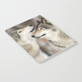 Winter Wolves Notebook