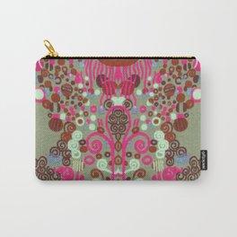 "Gustav Klimt ""Textile design - Model 8"" edited (1) Carry-All Pouch"