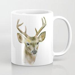 Buck Watercolor Painting Deer Fine Art Coffee Mug
