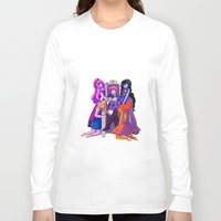 gumball Long Sleeve T-shirts featuring The Madness of Prince Gumball by CloudyLights