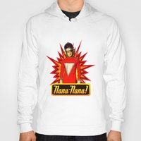 robin williams Hoodies featuring Nanu Nanu  |  Mork  |  Robin Williams Tribute by Silvio Ledbetter