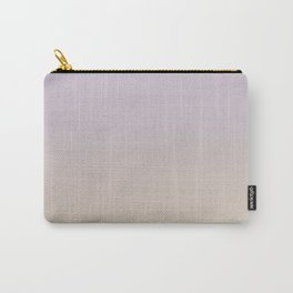FALLING INTO PLACE - Minimal Plain Soft Mood Color Blend Prints Carry-All Pouch