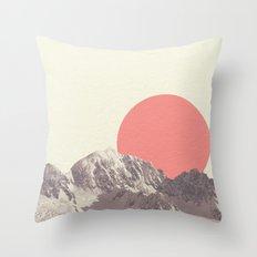 RISING SUN Throw Pillow