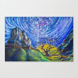 Galactic Manipura Canvas Print