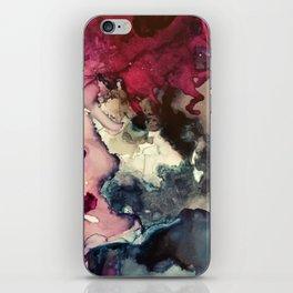Dark Inks - Alcohol Ink Painting iPhone Skin